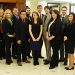 Members of the FHSU SGA that participated in Higher Education Day 2014
