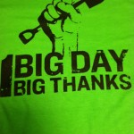 2014 The Big Event t-shirts.